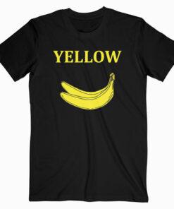Banana Yellow T Shirt bl