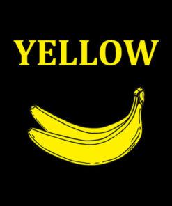Banana Yellow T Shirt