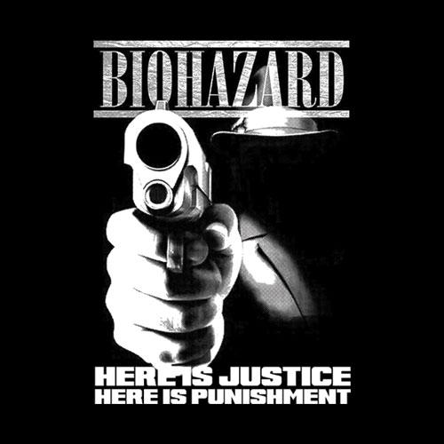 Biohazard Punishment Band T Shirt