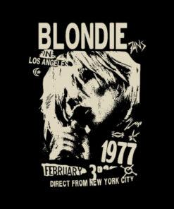 Blondie 1977 Band T Shirt