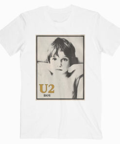 Boy U2 Band T Shirt