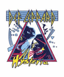 Def Leppard Hysteria Band T Shirt