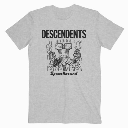 Descendents Spazz Hazard Band T Shirt