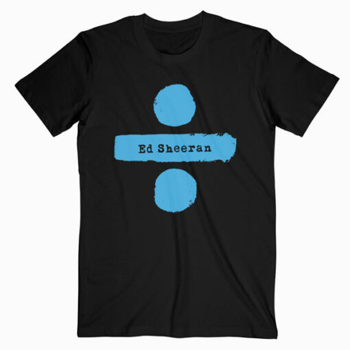 Ed Sheeran Divide Tour Band T Shirt