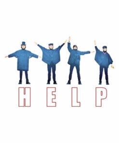 HELP The Beatles Band T Shirt