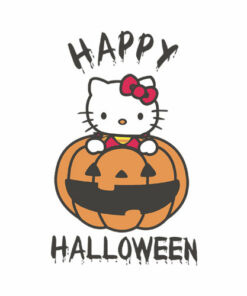 Hello Kitty Halloween T Shirt