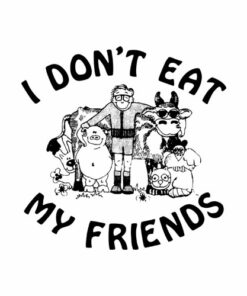 I Don't Eat My Friends Morrissey Band T Shirt