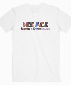 Ice Age Dawn Of The Dinosaurs Movie T Shirt