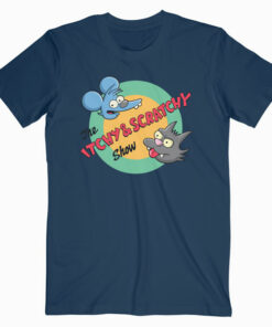 Itchy And Scratchy Show Movie T Shirt