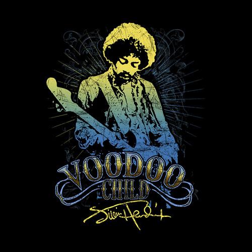 Jimi Hendrix Voodoo Child Band T Shirt