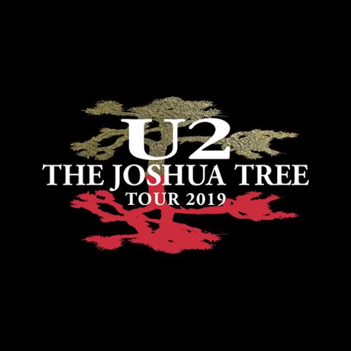 Joshua Tree Tour 2019 U2 Band T Shirt