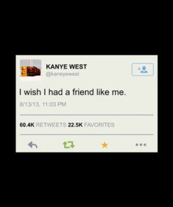 Kanye West Tweet Band T Shirt