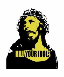Kill Your Idols Axl Rose Style Guns N Roses T Shirt