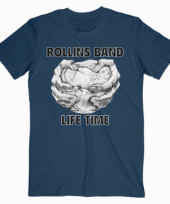 Life Time Rollins Band T Shirt