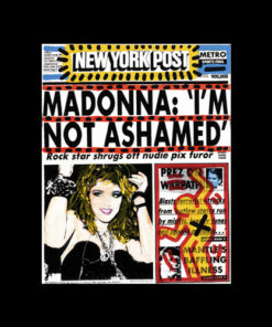 Madonna Im Not Ashamed Band T Shirt