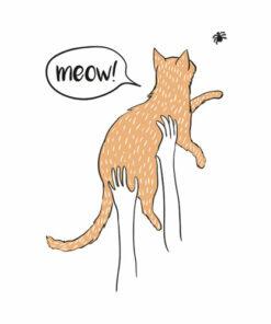 Meow Hunter Funny T Shirt