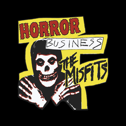 Misfits Horror Business Band T Shirt