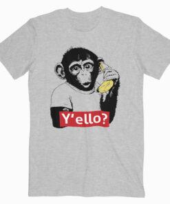 Monkey Y'ello T Shirt