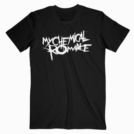 My Chemical Romance Logo Band T Shirt