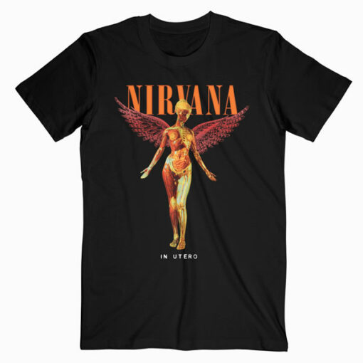 Nirvana In Utero Band T Shirt