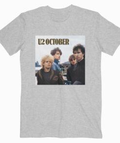 October U2 Band T Shirt
