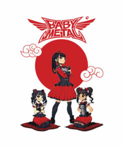Official Merchandise Babymetal Band T Shirt