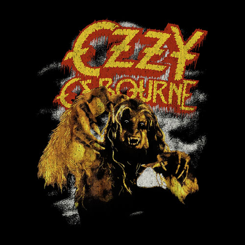 Ozzy Ozbourne Band T Shirt