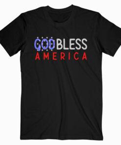 Patriotic USA God Bless America TShirt