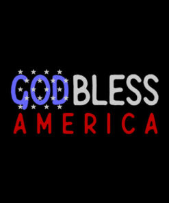 Patriotic USA God Bless America TShirt