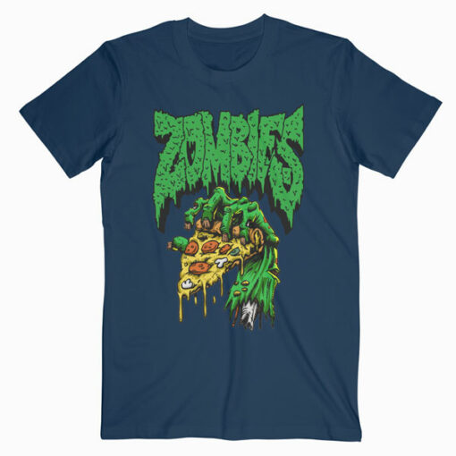 Pizza Zombie T Shirt