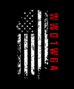 Q Anon WWG1WGA US Flag Shirt