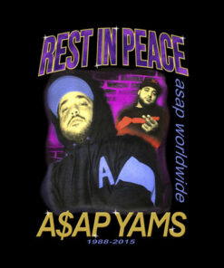 RIP Yams Band T Shirt