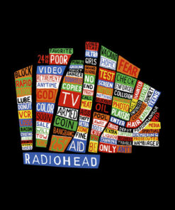 Radiohead Hail To The Thief Band T Shirt