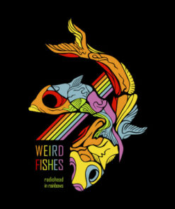 Radiohead Weird Fishes Band T Shirt