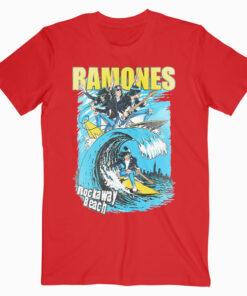 Ramones Rockaway Beach Band T Shirt