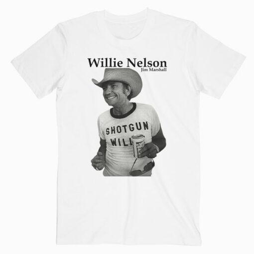 Retro Shotgun Willie Nelson Band T Shirt