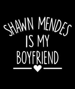Shawn Mendes Merch Is My Boyfriend Band T Shirt