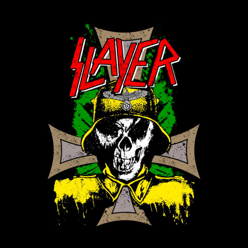 Slayer Vintage Band T Shirt