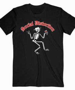 Social Distortion Men's Skelly Band T Shirt