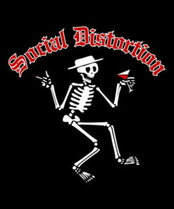 Social Distortion Men's Skelly Band T Shirt