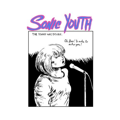 Sonic Youth Echo Band T Shirt