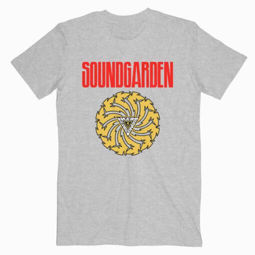 Sound Garden Bad Motor Finger Band T Shirt sg