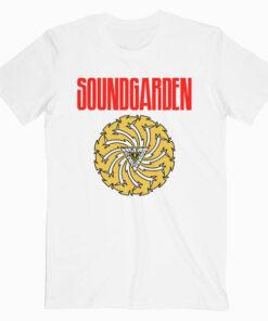 Sound Garden Bad Motor Finger Band T Shirt wt