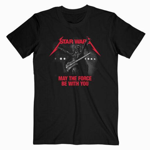 Star Wars Metallica Band T Shirt