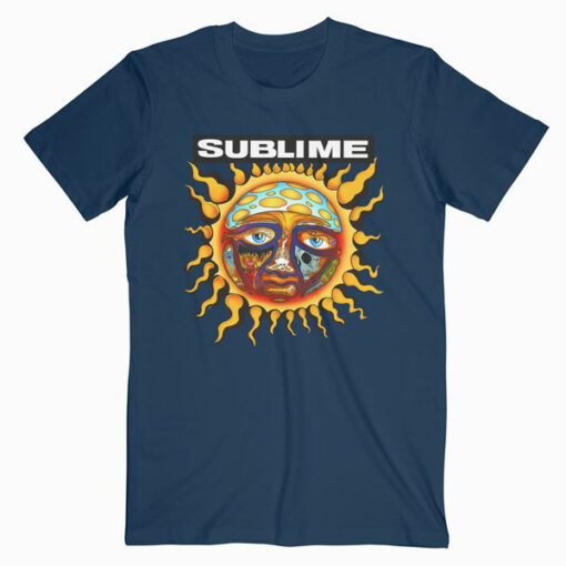 Sublime 40oz To Freedom Band T Shirt