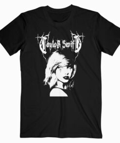 Taylor Swift Metal Mash Up Band T Shirt