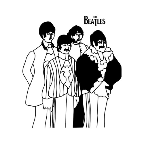The Beatles Band T Shirt