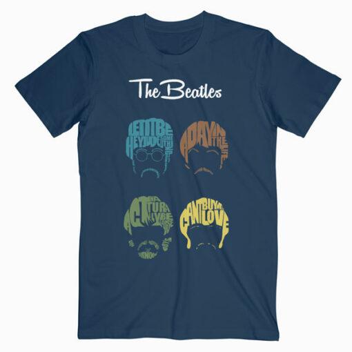 The Beatles Cartoon Band T Shirt