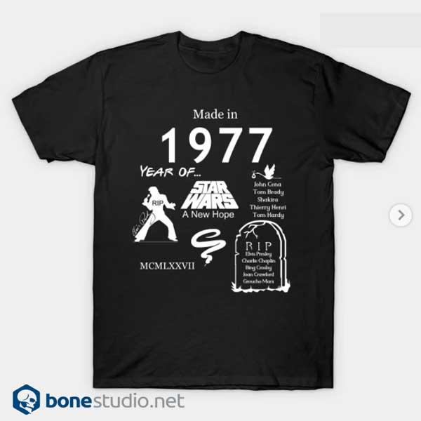The Best Class Of 1977 Star Wars T shirt