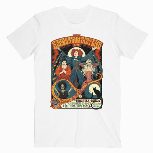 The Sanderson Sisters Live Movie T Shirt